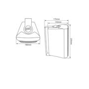 Adastra BC5 Ηχείο επιτοίχιο 5.25″ 8Ω 45W