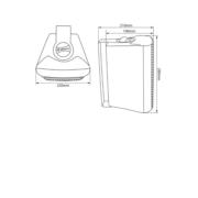 Adastra BC6 Ηχείο Επιτοίχιο 6.5″ 8Ω 60W