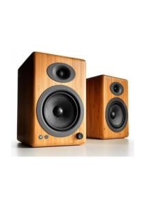 Audioengine A5+ Bamboo Ασύρματα  Αυτοενισχυόμενα Ηχεία Υπολογιστή