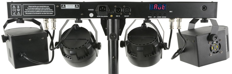 Qtx DERBY FX BAR Μπάρα Φωτισμού LED με Βάση