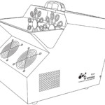 Qtx QTFX-B4 Επαγγελματική Μηχανή Φυσαλίδων