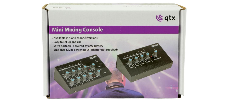 Qtx MM41 Μίνι Μίξερ Μικροφώνου