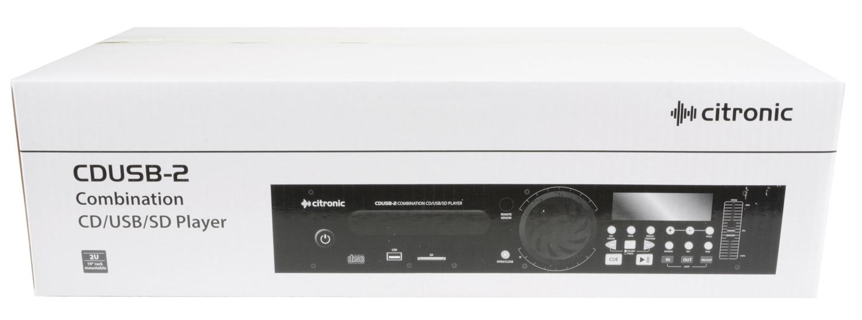 Citronic CDUSB-2 CD/USB/SD Player