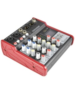 Citronic CSM-4 Compact Κονσόλα Μίξης 2 Καναλιών με USB & Bluetooth (Τεμάχιο)