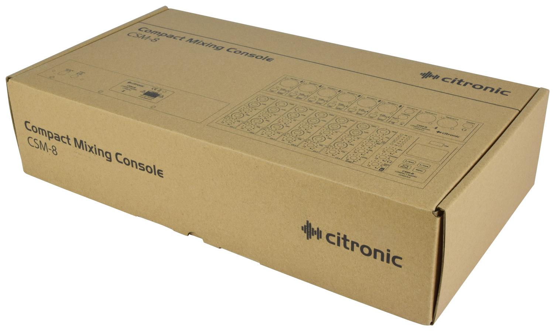 Citronic CSM-8 Compact Κονσόλα Μίξης 6 Καναλιών με USB & Bluetooth (Τεμάχιο)