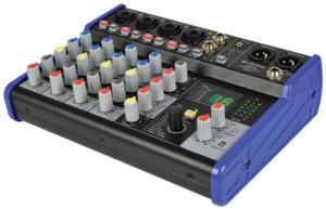 Citronic CSD-6 Compact Κονσόλα Μίξης 5 Καναλιών με Bluetooth και Εφέ DSP (Τεμάχιο)