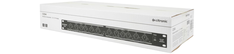 Citronic CX34 Ενεργό Crossover – 2 / 3 / 4 Way (Τεμάχιο)