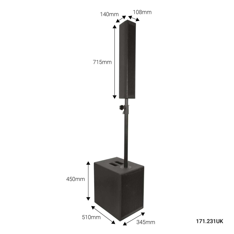 Citronic Monolith Ενεργό Σύστημα Ηχείων