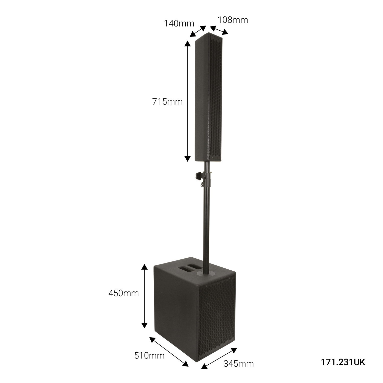 Citronic MONOLITH II Ενεργό Σύστημα Ηχείων