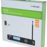 Citronic RU105-N Διπλό Σύστημα Μικροφώνου UHF Beltpack