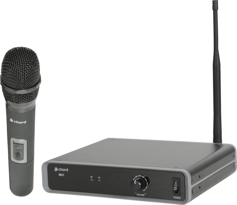 Chord NU1-H Ασύρματο Μικρόφωνο Χειρός UHF 863.1MHz (Σετ)