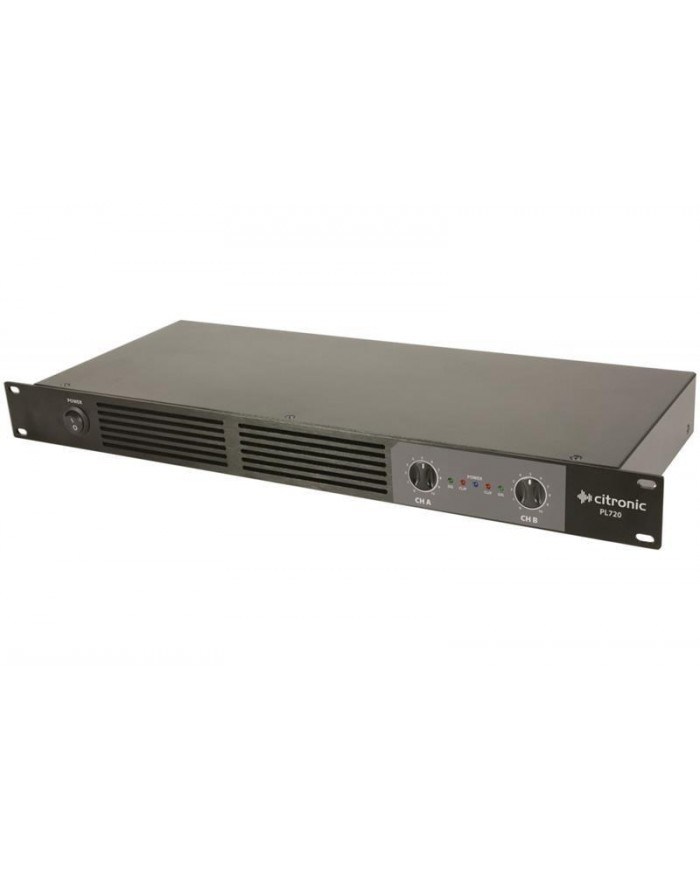 Citronic PL720 Ψηφιακός Ενισχυτής 2x360W 1U