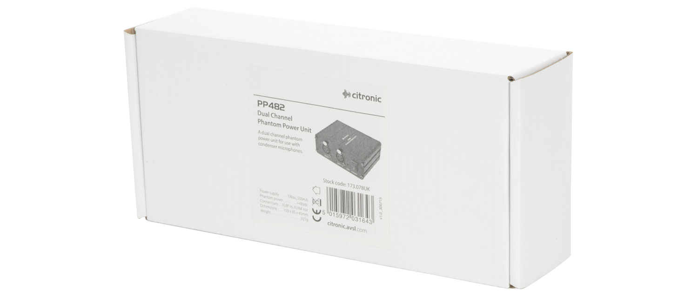 Citronic PP482 Phantom Power Unit