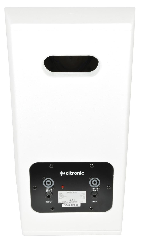 Citronic CS-1035W Λευκό Παθητικό Ηχείο 10″