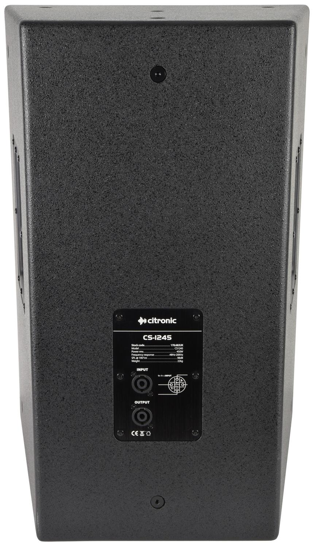 Citronic CS-1245B Μαύρο Παθητικό Ηχείο 12″