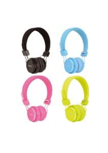AvLink CH850 Παιδικά Ακουστικά Με Ενσωματωμένο Μικρόφωνο - Green