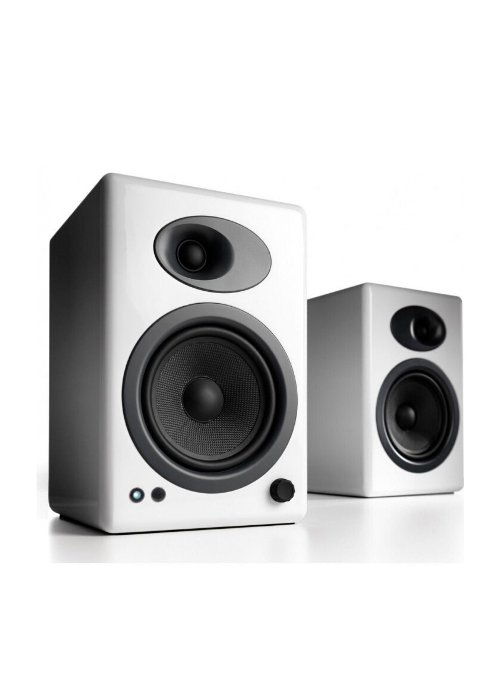 Audioengine A5+ Αυτοενισχυόμενα Ηχεία Υπολογιστή White