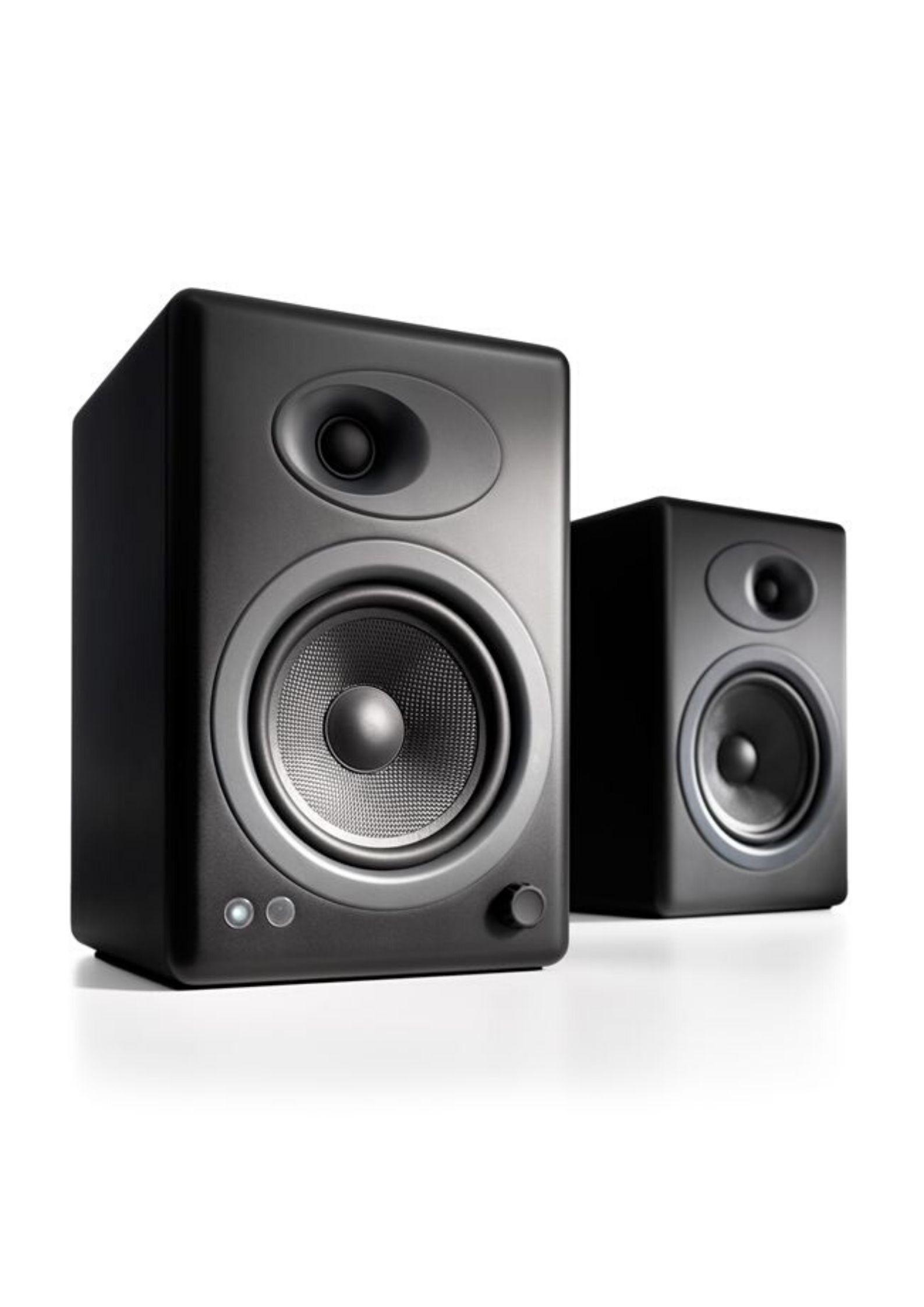 Audioengine A5+ Αυτοενισχυόμενα Ηχεία Υπολογιστή Black