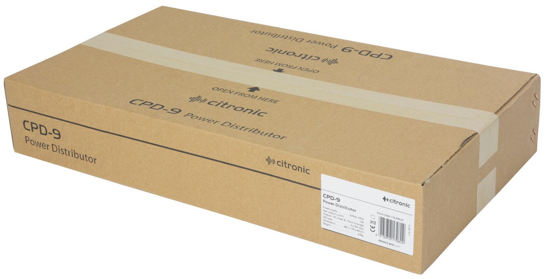 Citronic CPD-9 Διανομέας ισχύος IEC 8 διαδρομών