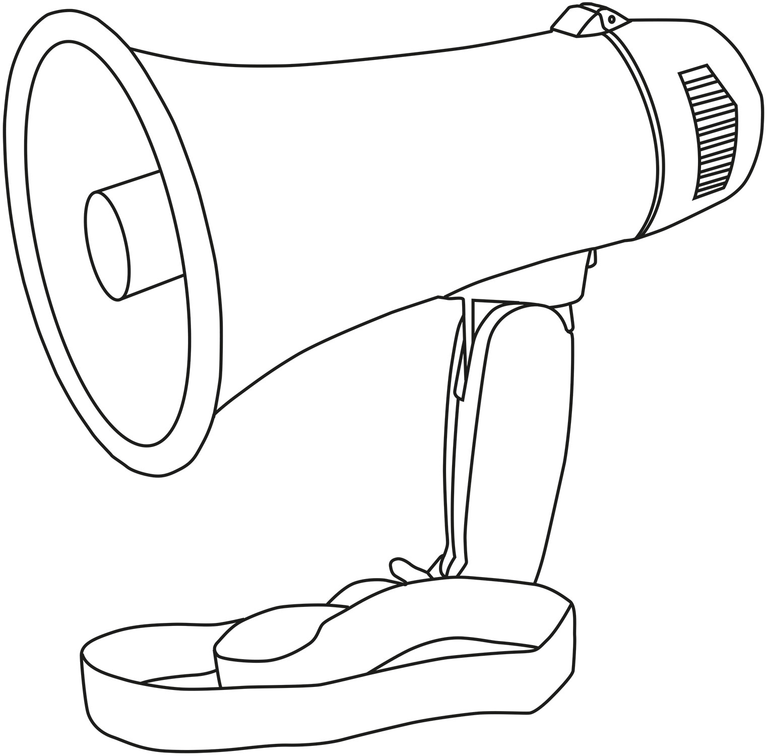 Adastra L01 Φορητό μεγάφωνο 10W