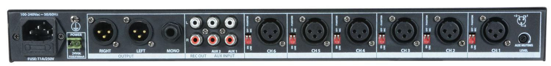 Adastra ML622 Μίκτης Mic-Line για Rack