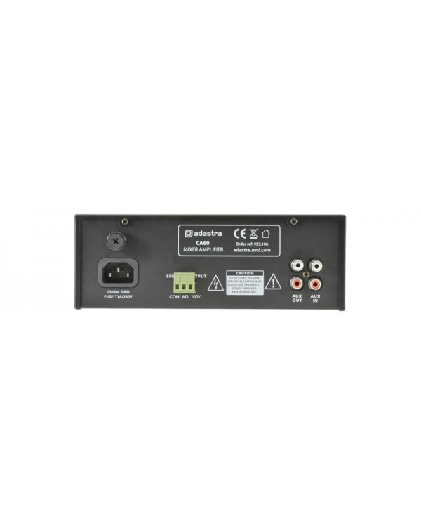 Adastra CA60 100V/8Ω  Μίκτης-Ενισχυτής Compact 60W