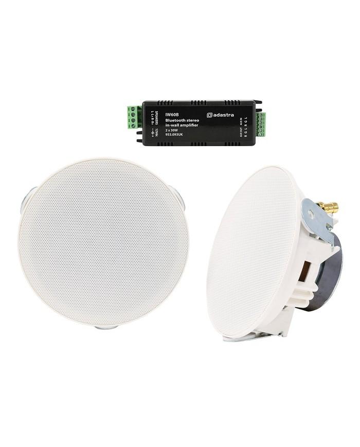 Adastra AD-SL4-BT Ολοκληρωμένο Σύστημα Bluetooth Ενισχυτή με Ηχεία Οροφής