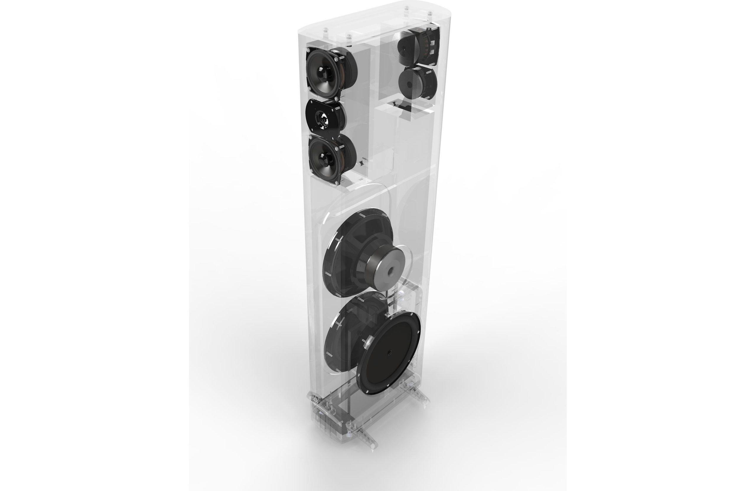 Definitive Technology BP-8060ST Επιδαπέδια Ηχεία με Ενεργό Subwoofer 4-1/2″ 8Ω 300W