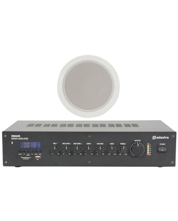 Ολοκληρωμένο Σύστημα 6 Ηχείων Οροφής με Ενισχυτή & USB / SD Player (Basic Bundle) 2A