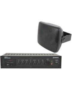 Ολοκληρωμένο Σύστημα 6 Ηχείων Τοίχου με Ενισχυτή & USB / SD Player (Premium Bundle).