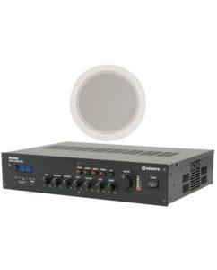 Ολοκληρωμένο Σύστημα 8 Ηχείων Οροφής με Ενισχυτή & USB / SD Player (Basic Bundle) 3A