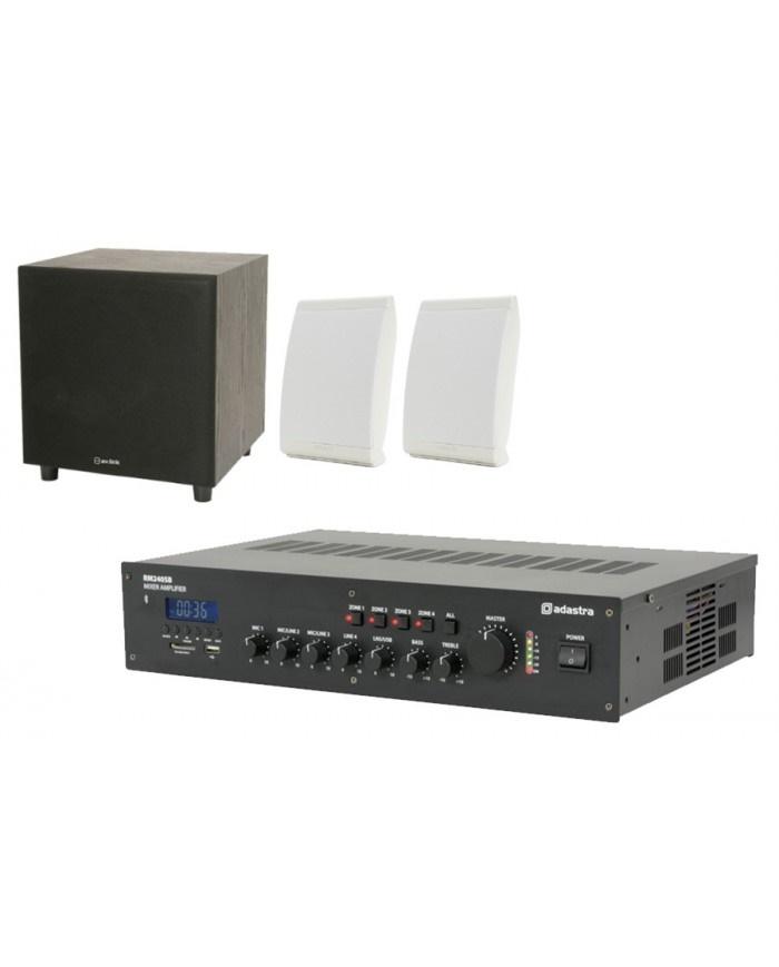 Ολοκληρωμένο Σύστημα 2 Ηχείων + Subwoofer με Ενισχυτή & USB / SD Player Omni-2