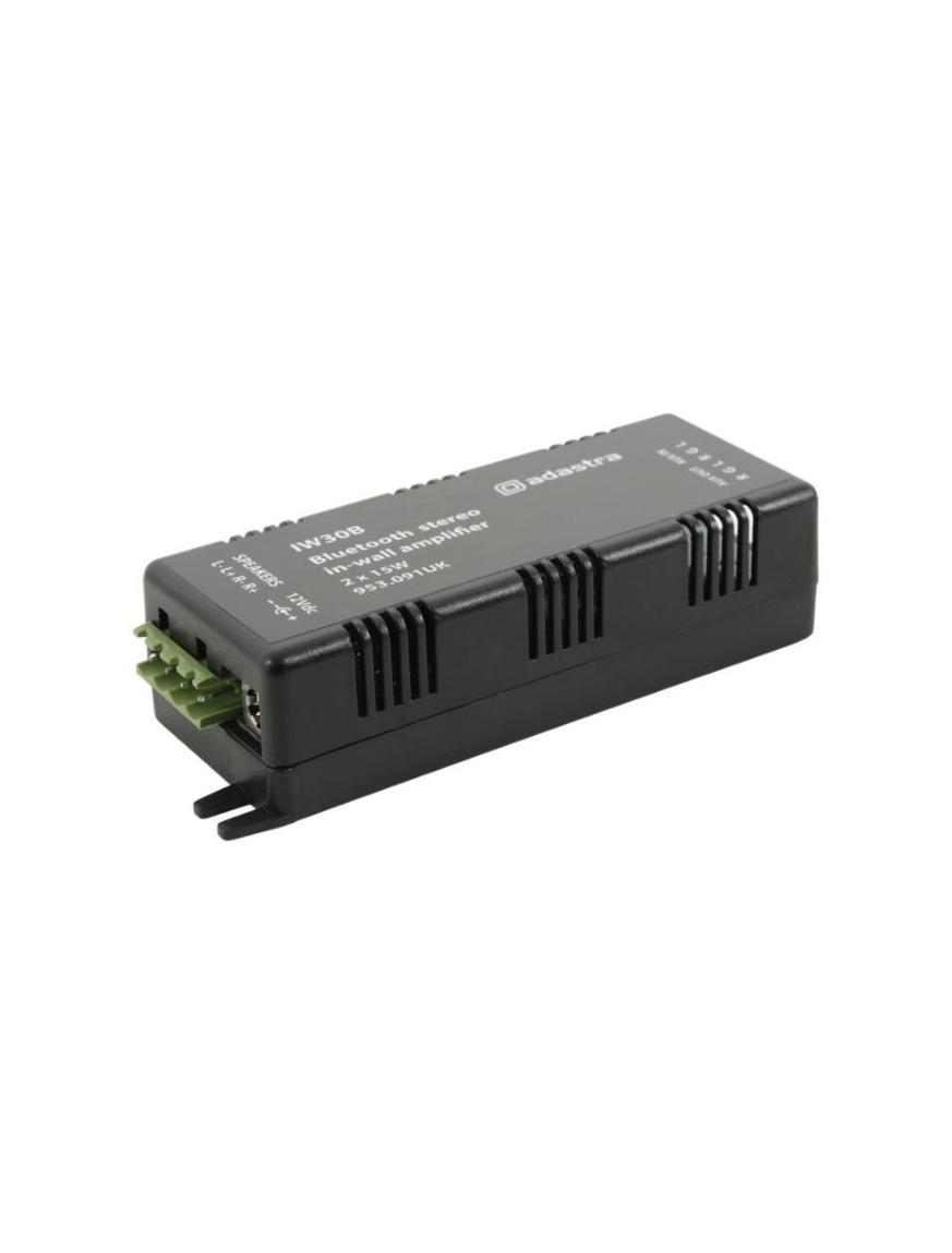 Adastra IW30B Στερεοφωνικός Ενισχυτής Bluetooth 2x15W