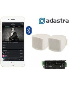 Adastra AD-IW30BC25V Ολοκληρωμένο Σύστημα Bluetooth Ενισχυτή με Επιτοίχια Ηχεία