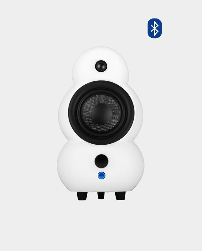 Podspeakers MiniPod BΤ MKII Λευκό Ενεργό Bluetooth Ηχείο (Τεμάχιο)