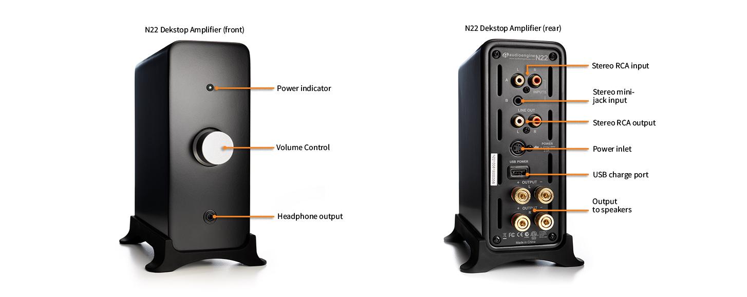 Audioengine N22 Ενισχυτής Ηχου