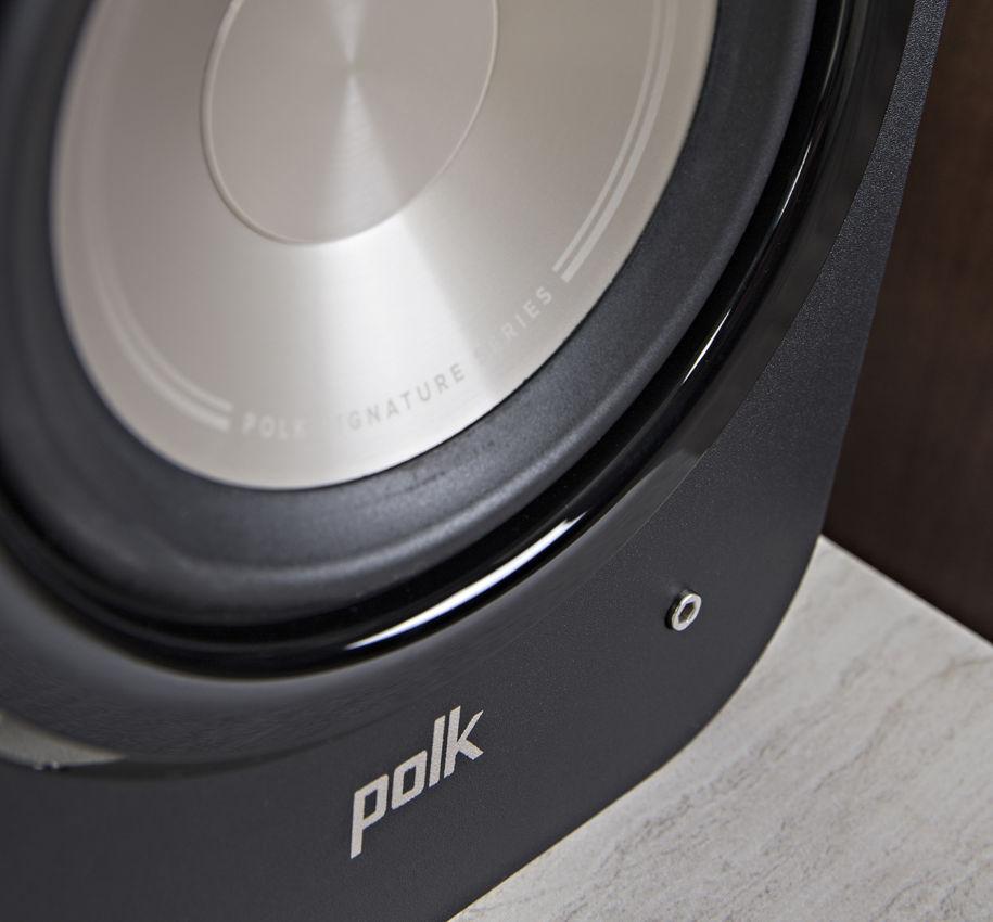 Polk Audio Signature S20 Ηχεία Home Cinema Black/Βιβλιοθήκης 6,5″ 8Ω 125W
