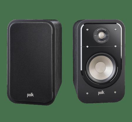 "Polk Audio Signature S20 Ηχεία Home Cinema Black/Βιβλιοθήκης 6,5"" 8Ω 125W"
