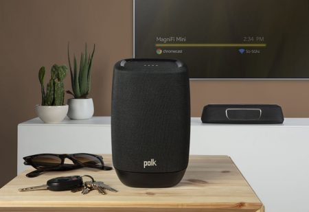 """Polk Audio MagniFi Mini Ultra-Compact Home Theater Surround Μπάρα με Subwoofer 6.5"""" 155W"""