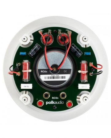 "Polk Audio RC6s Χωνευτό Στερεοφωνικό Ηχείο 6.5"" 8Ω 100W"