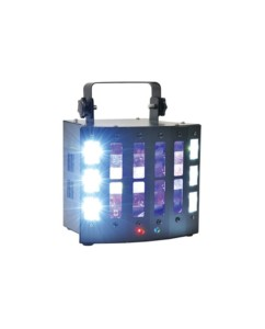 Qtx Φωτιστικό Εφέ SURGE 4-in-1 LED + Laser Effect