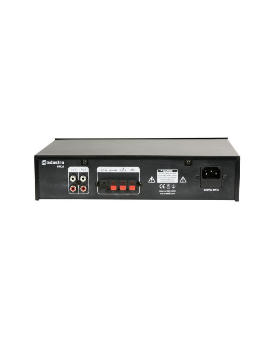 Adastra DM25 100V/8Ω Ενισχυτής Με USB/FM & Bluetooth 25W