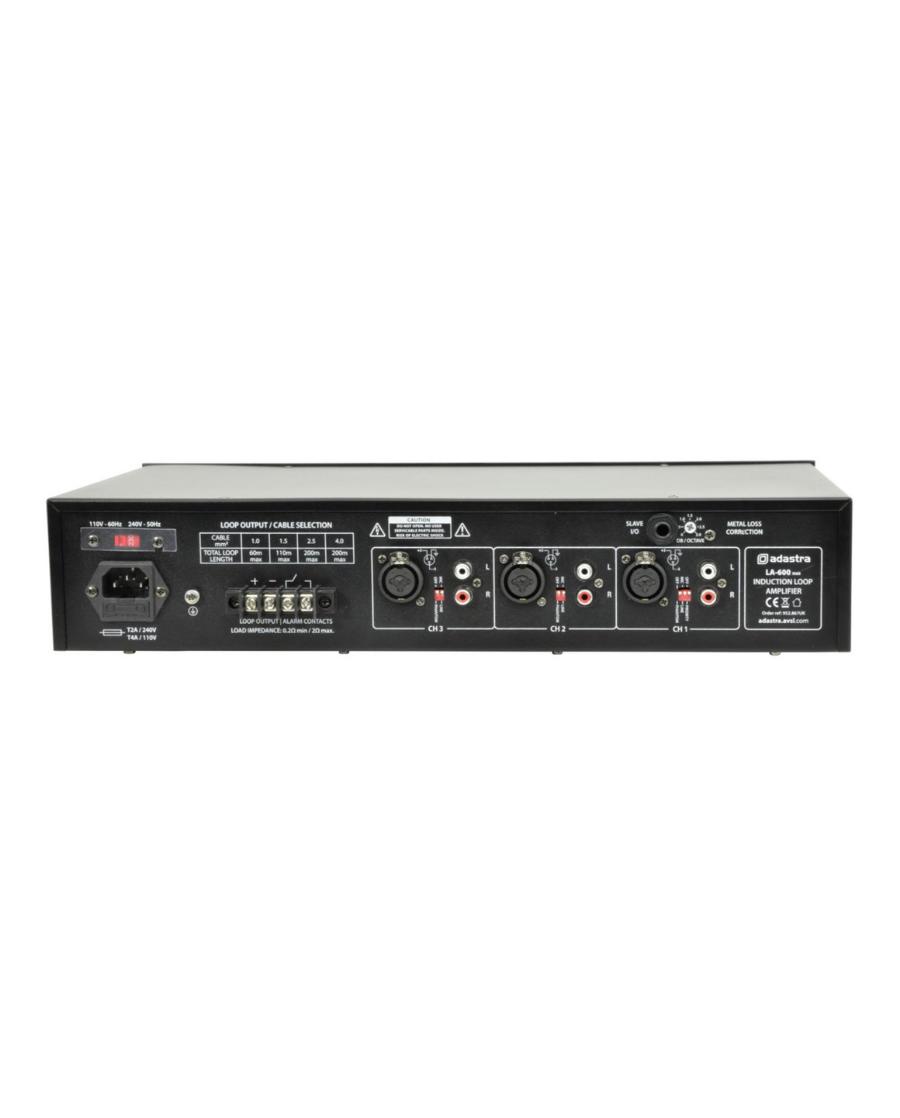 Adastra LA-600mkll Επαγωγικός Ενισχυτής Βρόγχου 2U