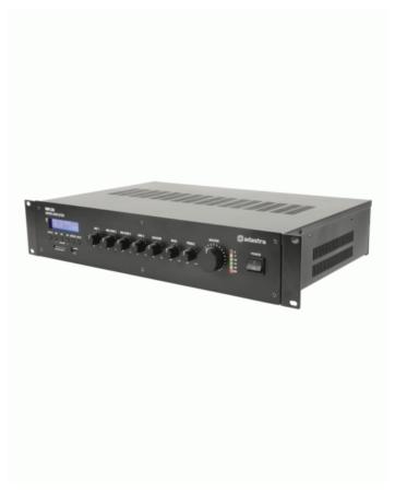 Adastra RM120 Μίκτης-Ενισχυτής Με USB/SD/FM & Bluetooth 120W 2U