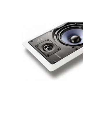 "Polk Audio RC55i Χωνευτά Ηχεία 5.25"" 8Ω 100W"