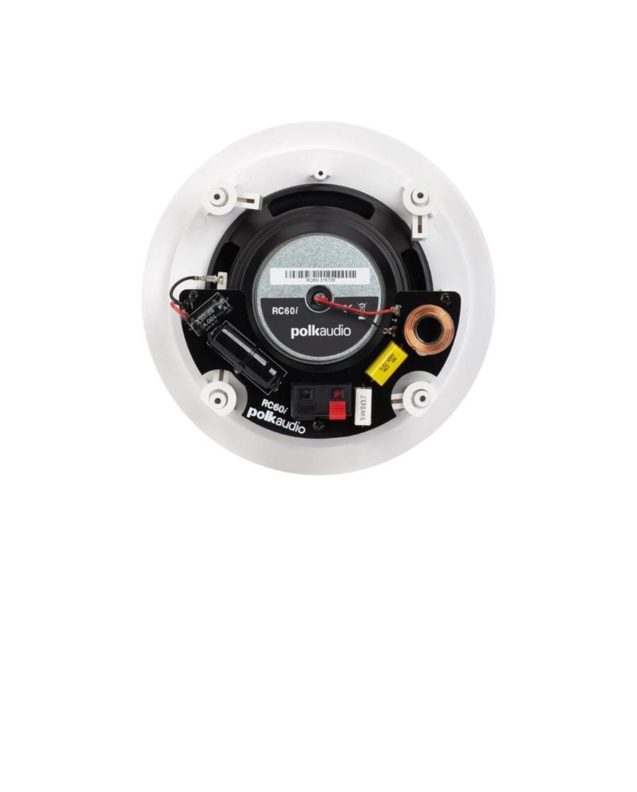 Polk Audio RC60i Χωνευτά Ηχεία 6.5″ 8Ω 100W