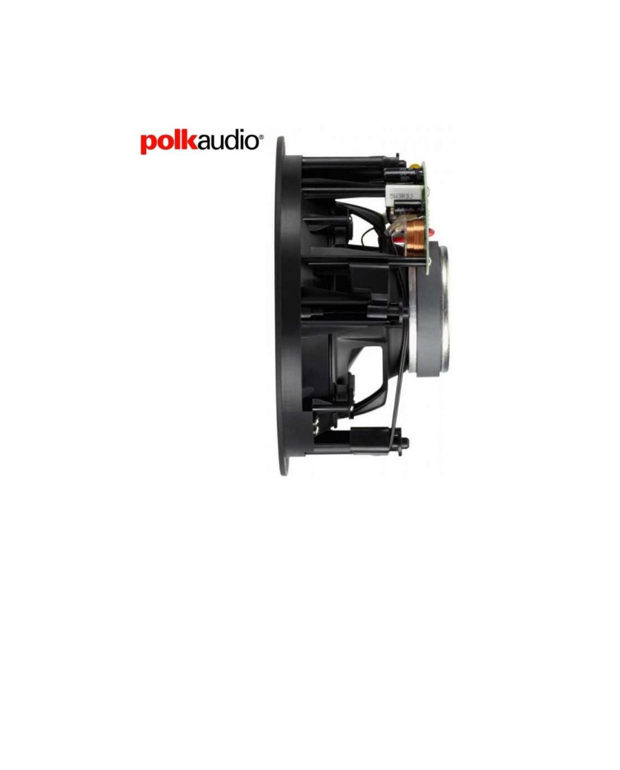 Polk Audio VS620-RT Χωνευτό Ηχείο 6.5″ 8Ω 100W