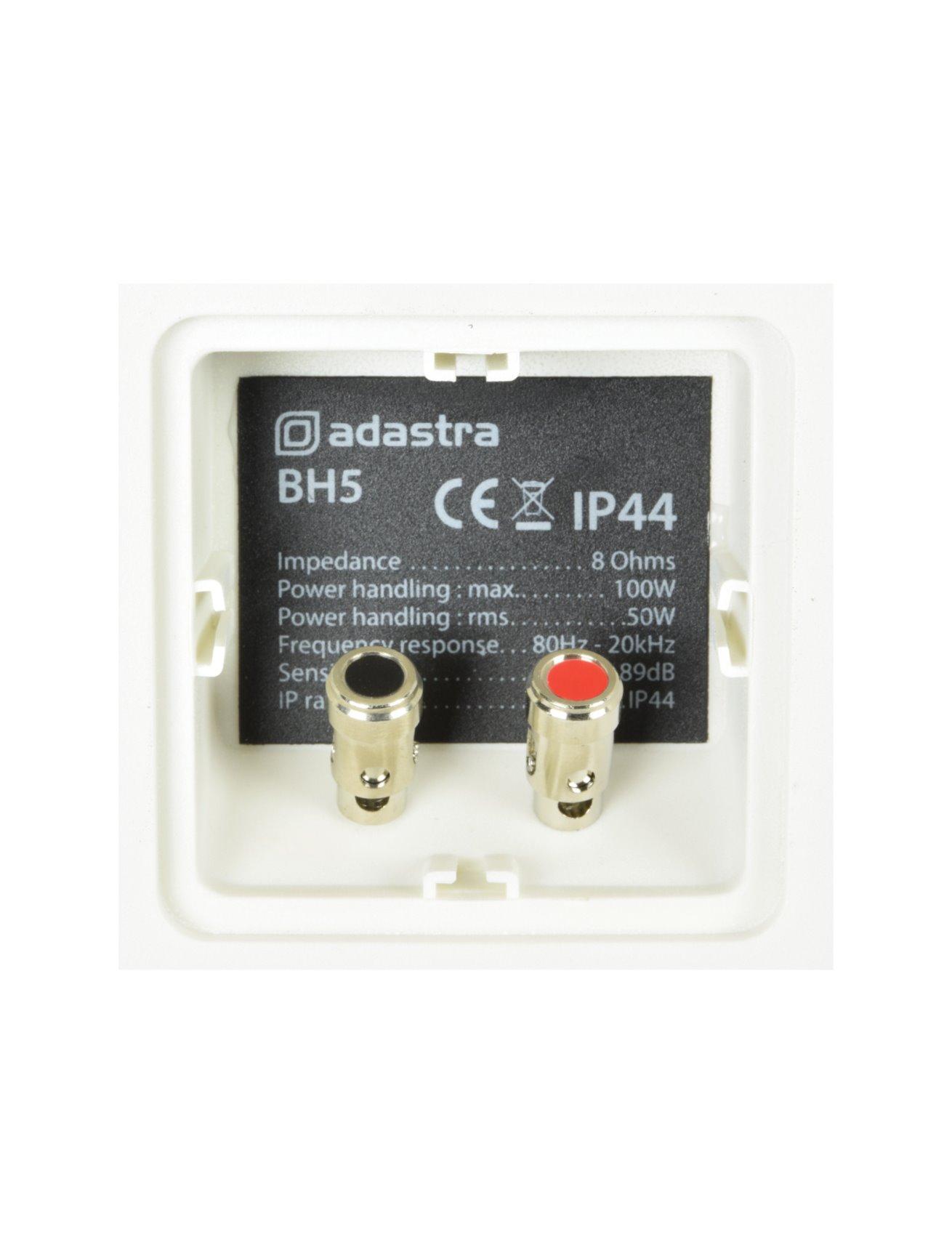 Adastra BH5 Επιτοίχια Ηχεία 5.25″8Ω 50W
