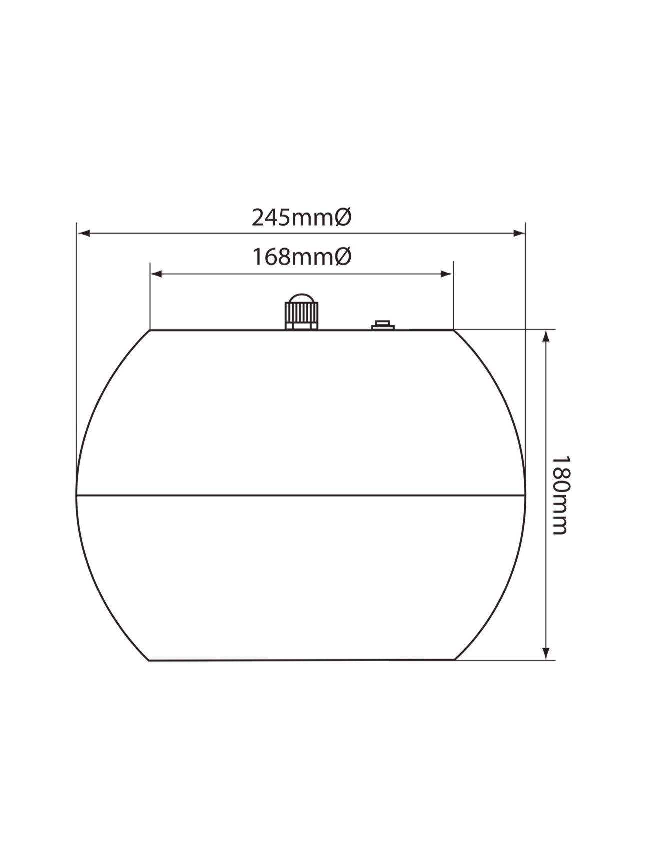 Adastra PS50 Κρεμαστό Ηχείο Οροφής 5″ 100V/8Ω 20W