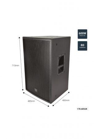 "Citronic CS-1560 Παθητικό Ηχείο 15"" 8Ω 600W"
